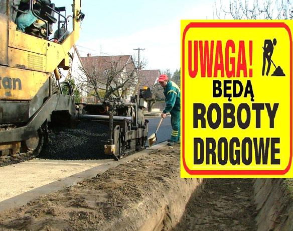 Znalezione obrazy dla zapytania remonty dróg